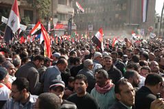 First Anniversary Of Egypt's Uprising Royalty Free Stock Photography