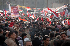 First Anniversary Of Egypt's Uprising Stock Image