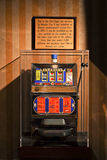 The First Atlantic City Slot Machine Stock Images