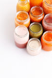 First baby food Royalty Free Stock Photos