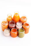 First baby food Stock Images