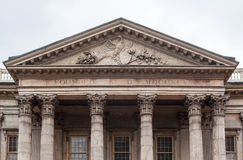 First Bank of the United States. The facade of the First Banck of the United States with its corinthian columns Stock Photos
