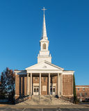 First Baptist Church of West Columbia. First Baptist Church in West Columbia, South Carolina Stock Image