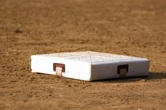 First Base. An image of a base royalty free stock photos