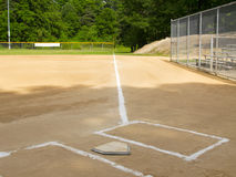 First base line Stock Image