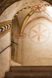 First Benedictine decoration in church San Fermo Royalty Free Stock Photos