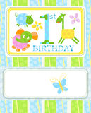 First birthday Royalty Free Stock Photography