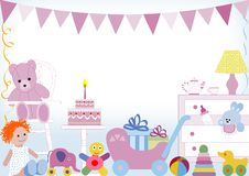 First birthday Royalty Free Stock Images