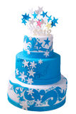 First Birthday Cake Royalty Free Stock Image