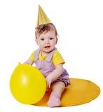 First birthday Girl Stock Photo