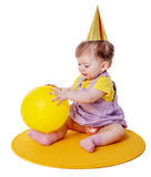 First birthday Girl Royalty Free Stock Image