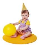 First birthday Girl Royalty Free Stock Photo
