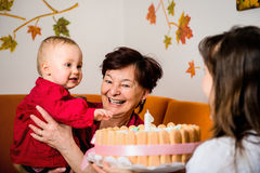 First birthday Stock Images