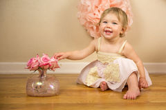 First Birthday Photoshoot Royalty Free Stock Photography