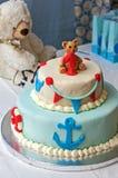First Birthday, Sea World Theme Stock Photo