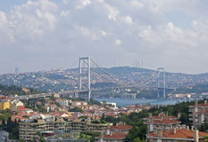 First Bosphorus Bridge Royalty Free Stock Image