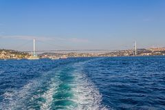 First Bosphorus Bridge Stock Images