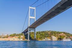 First Bosphorus bridge Stock Photo