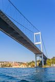 First Bosphorus bridge Stock Image