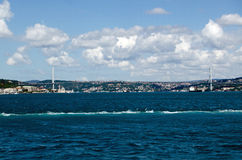 First Bosphorus Bridge, Istanbul Royalty Free Stock Photo