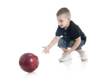 First Bowling Royalty Free Stock Image