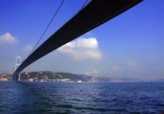 The first bridge of Bosporus in Istanbul Stock Image