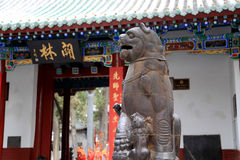 The first Buddhist temple in China, White Horse Temple, Baima temple. White Horse Temple,(Baima temple) is the first Buddhist temple in China, established in 68 royalty free stock photography