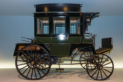 The first bus Benz Omnibus (Benz motorized bus), 1895. Royalty Free Stock Photo