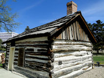First Cabin in Boise, Idaho Stock Photo