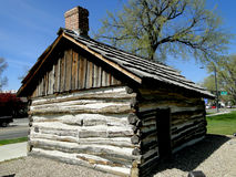 First Cabin in Boise, Idaho Royalty Free Stock Photography