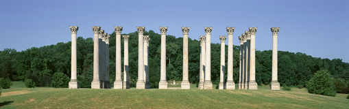 The first Capitol Columns Stock Photography