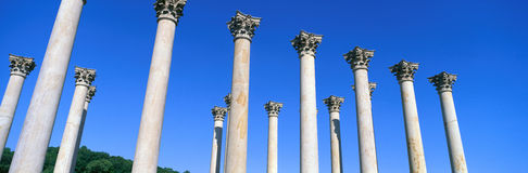 The first Capitol Columns of the United States at the National Arboretum, Washington D.C. Royalty Free Stock Photos