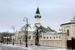 The First Cathedral Mosque in Kazan, built in 1766-1770 by Cathe Royalty Free Stock Photo