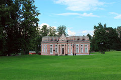 The first cavalry corps. 1784-1785 years. Tsaritsyno Park. Mosco Stock Image