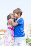 First children love Royalty Free Stock Image