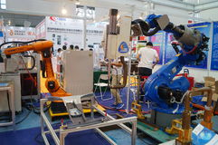 First China smart equipment industry expo, held in Shenzhen Convention and Exhibition Center Royalty Free Stock Images