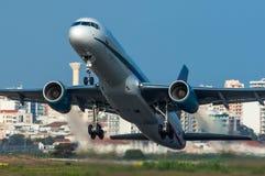 First Choice flygbolag Boeing 757 Arkivbild
