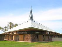 USA, AZ/Phoenix: Frank Lloyd Wright Church Royalty Free Stock Photos