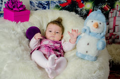 First Christmas Royalty Free Stock Photography