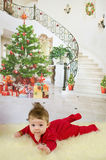 First Christmas Stock Photo
