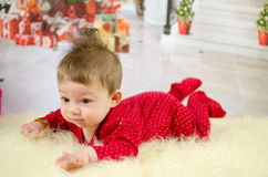 First Christmas Royalty Free Stock Image