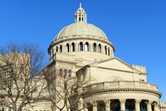 The First Church of Christ Scientist, Boston, USA Royalty Free Stock Photography
