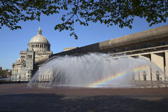 The First Church of Christ Scientist in Christian Science Plaza in Boston, MA, USA Stock Photo