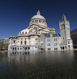 The First Church of Christ Scientist in Christian Science Plaza in Boston, MA, USA. The First Church of Christ Scientist in Christian Science Plaza in Boston Royalty Free Stock Photos