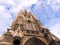 The first church of Otago, Dunedin, New Zealand royalty free stock photography