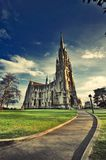First Church Of Otago Dunedin New Zealand. 1848 marked the beginning of Dunedin as a Free Church of Scotland ( Presbyterian) settlement. The early settlers Royalty Free Stock Image