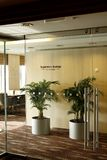 First Class Business Lounge area in the airport Stock Image