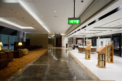 First class lounge interior Royalty Free Stock Images