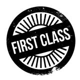 First class stamp. Grunge design with dust scratches. Effects can be easily removed for a clean, crisp look. Color is easily changed Stock Images