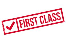 First class stamp Stock Photography
